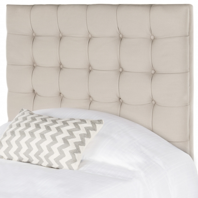 Safavieh Lamar Upholstered Panel Stand Alone Headboard Pictures 77