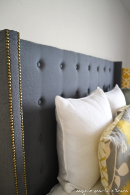 Sarah M Dorsey Designs Diy Stand Alone Headboard Photos 83