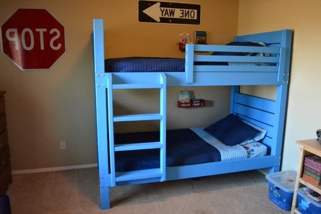 Side Street Wood Bunk Bed Ladder Only Images 25