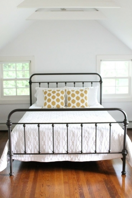 Simple Metal Bed Frame Ideas Black Photo 53