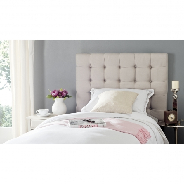 Stand Alone Headboard Safavieh Lamar Upholstered Panel Headboard  Pictures 37