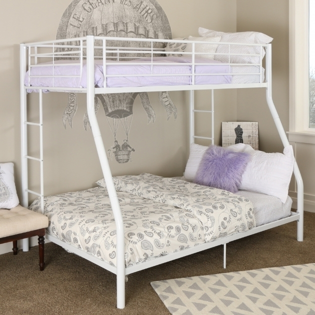 Twin Over Full Bunk Bed With Mattress Included Home Loft Concepts Sunrise Pictures 63