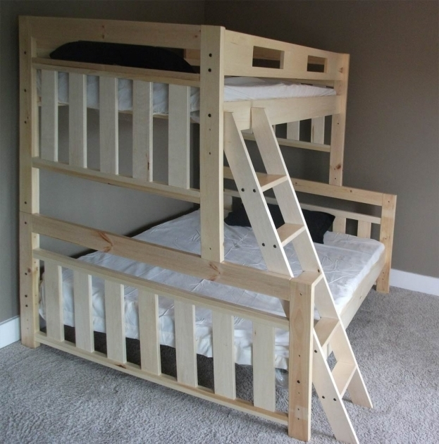 White Wood Bunk Bed Ladder Only SS19501  Image 63