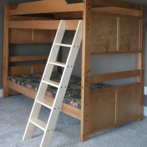 Wood Bunk Bed Ladder Only