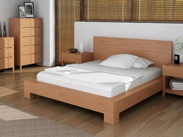 Wooden Epic Cheap King Size Platform Bed Frame Photos 73
