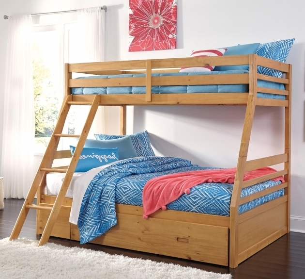 Ashley Furniture Bunk Beds Hallytown Solid Pine Twin Full Bunk Bed Photos 08