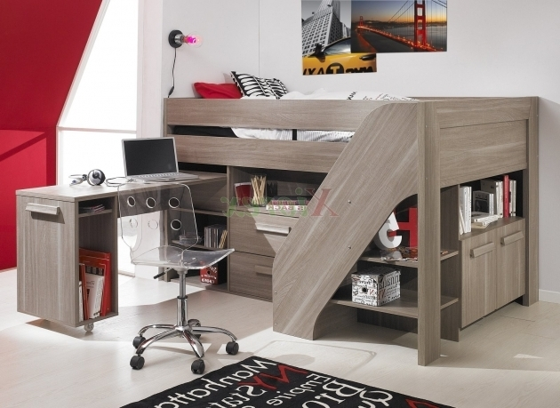 Bunk Bed With Desk Cheap Home Interior And Storage Pictures 23