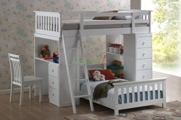 Huckleberry Kids Bunk Bed With Desk Cheap With Storage Photo 42
