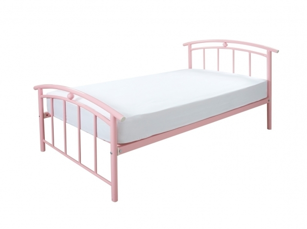 Jersey Pink Cheap Metal Bed Frames Bedroom Furniture Image 81