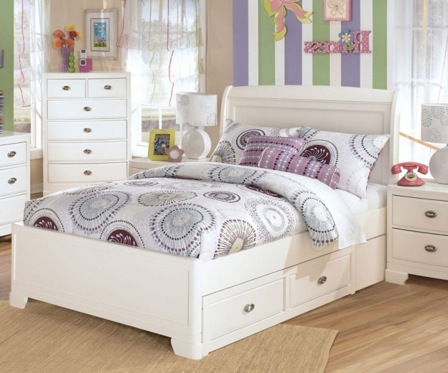 Kids Full Size Headboard Solid Wood Construction White Finish Ideas Sleigh Headboard Drawer Images 22