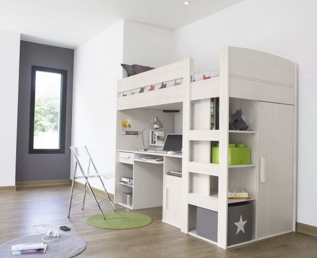 bunk bed with desk cheap plans underneath woodworking workbench