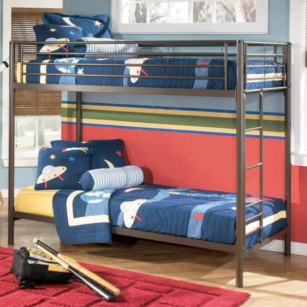 Metal Beds Ideal Bedroom Ashley Furniture Bunk Beds Photo 58