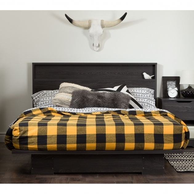 Queen Platform Bed Frame With Storage Ideas South Shore Holland Photo 86