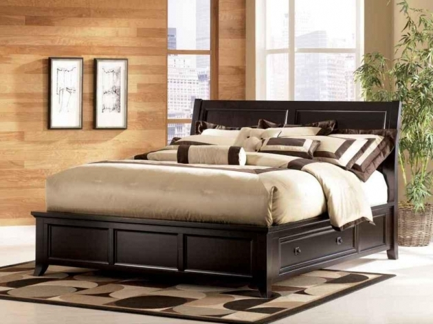 Queen Platform Bed Frame With Storage Style Modern Ideas Picture 35