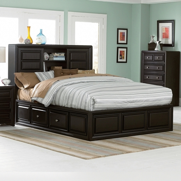 Queen Size Platform Bed Frame With Storage Ideas Pictures 65