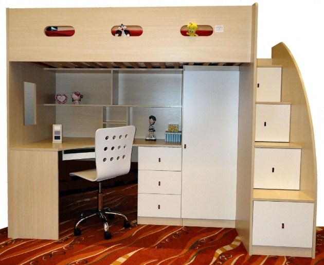 Simple Bunk Bed With Desk Cheap Bedroom Kids Loft Beds Ideas Photo 88
