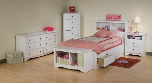 White Bedroom Set For Youngsters Kids Full Size Headboard Picture 48