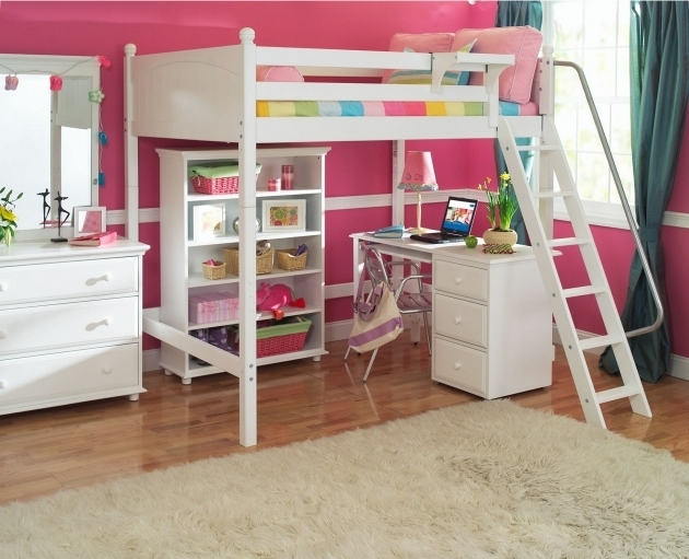 White Bunk Bed With Desk Cheap Furniture Ideas Images 45