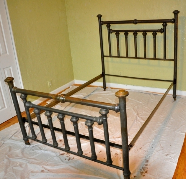 Antique Metal Beds Iron Value Frames  Photo 27