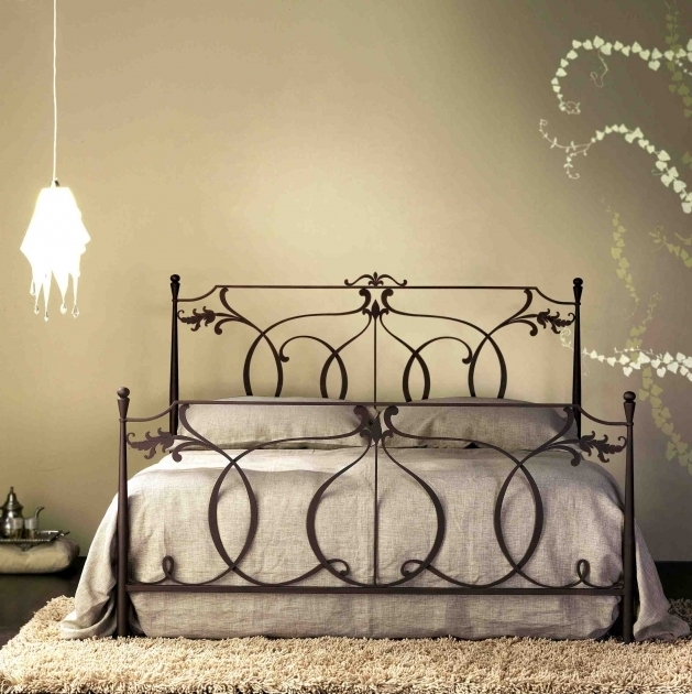 Antique Metal Beds Italian Furniture Classic Concerto Wrought Iron Headboard Photos 13