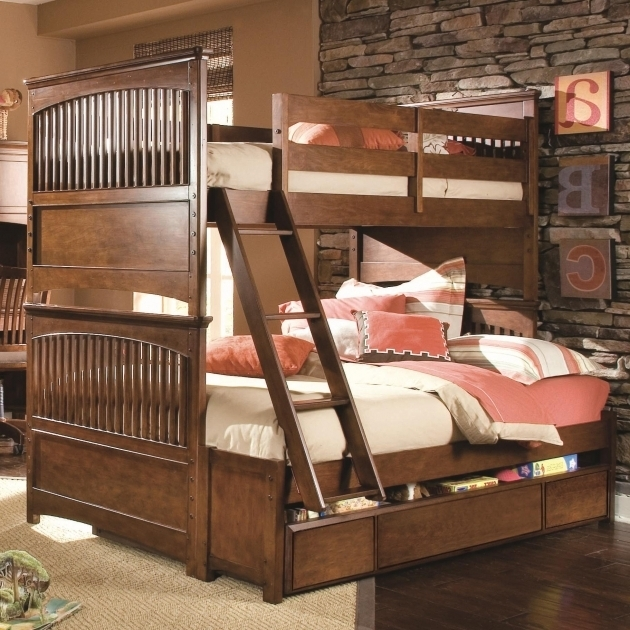 Full Over Queen Bunk Bed Plans Twin Bunk Bed Replacement Ladder Photos 01