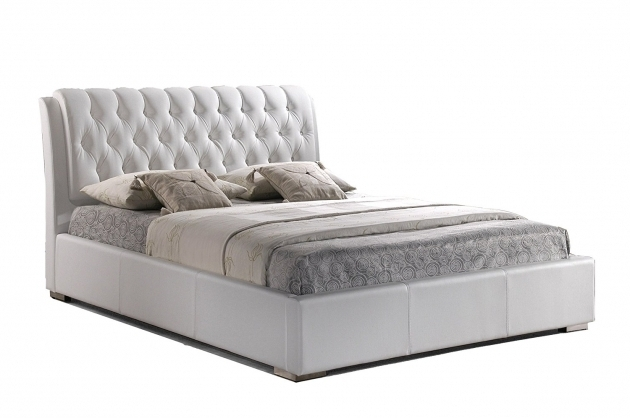 Mattress Firm Headboards Com Baxton Studio Bianca Modern Bed With Tufted Headboard Image 36