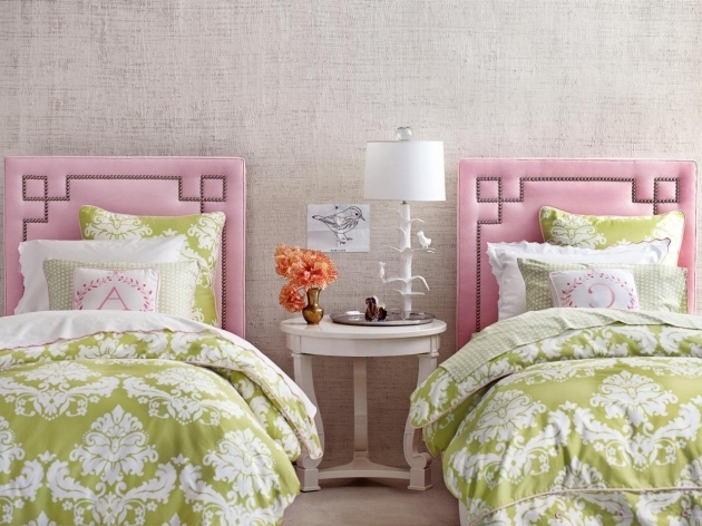 Upholstered Little Girl Headboards Images 18