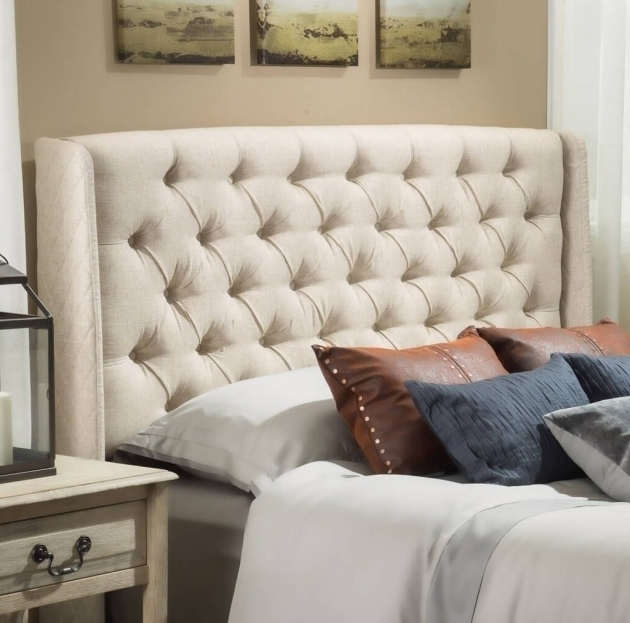Bedroom Design Linen QueenCheap Tufted Headboard Ideas Also Cream Astounding Hilton Size Images 16
