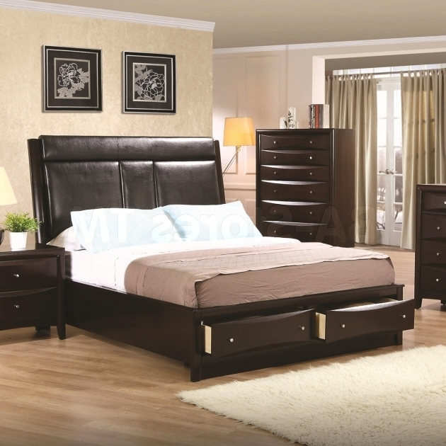 Full Size Platform Bed With Drawers With Storage Bostwick Shoals Queen Size Photo 20