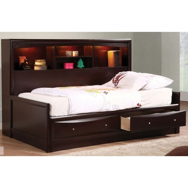 Headboard Collection Full Size Platform Bed With Drawers Image 35