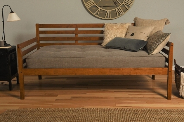 Boho Wood Daybed Frame Twin Size Trundle Design Bedroom Parts Photos 63