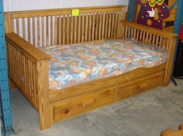Wood Daybed Frame Home Decorating Modern Furniture Ideas Image 97